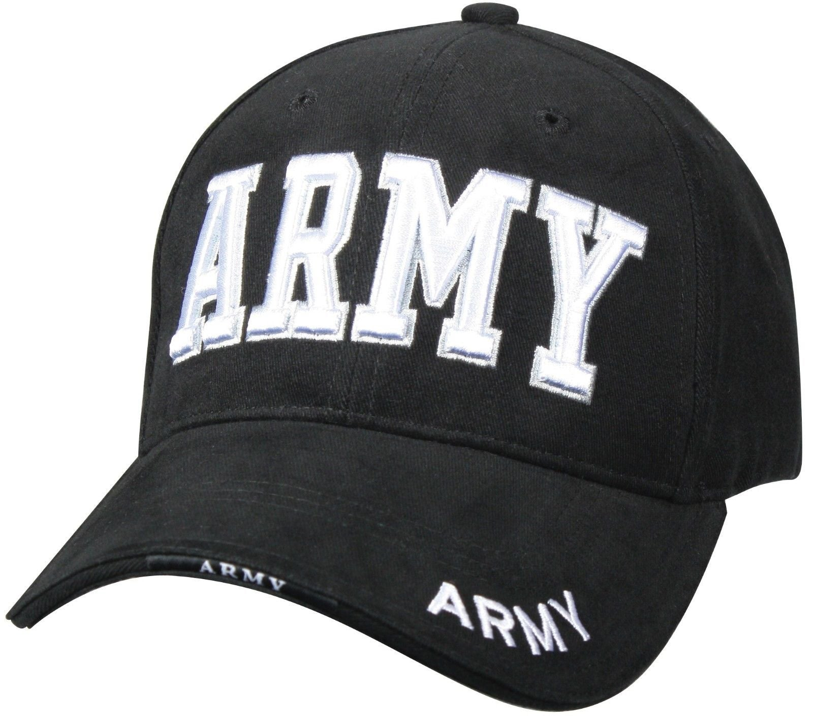 Quot Army Quot Black Hat Deluxe Baseball Cap Grunt Force