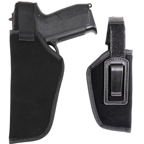 Inside Pants Firearm Holster Securely Clip on Top of Pant Waistband IWB or Belt