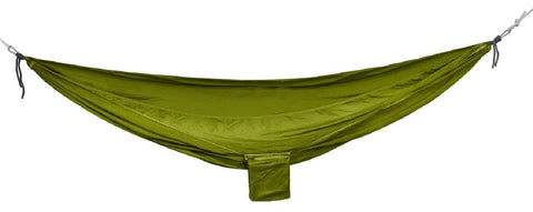 Lightweight Packable Hammock - Rothco 8.5' Olive Drab Parachute Nylon Hammocks