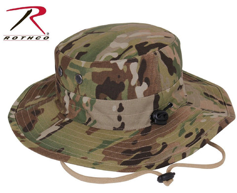 466d70eca95 MultiCam Camouflage Adjustable Outdoor Boonie Tactical Bucket Hat ...