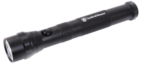 Black Smith & Wesson AA LED Aluminum Flashlight - 58 Meter Beam Flash Light