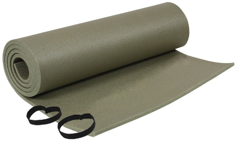 Foam Sleeping Pad with Ties Military Style Hiking Camping Cushion Mat