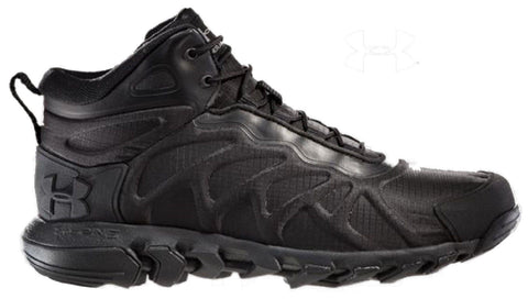 Under Armour Men's Black Valsetz Venom Mid-Height Military Tactical Boots