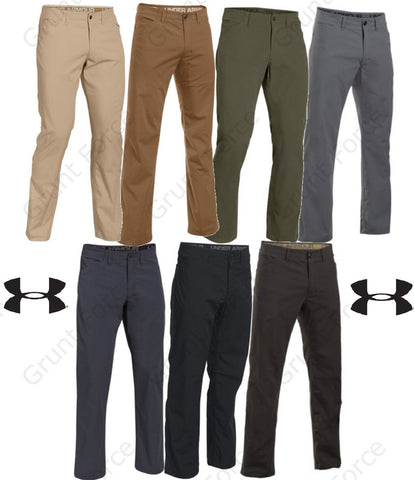 Under Armour Storm Covert Tactical Pants - UA Mens Full Cut Field Duty Work Pant