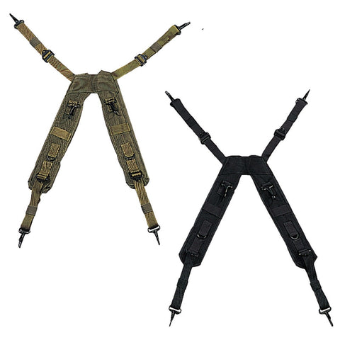 "Rothco G.I. Type ""H"" Style LC-1 Suspenders - Black or Olive Tactical Suspender"