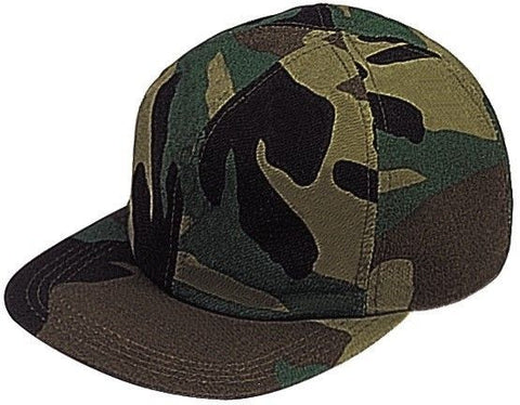 Rothco Men's Woodland Camouflage Full Back Cap