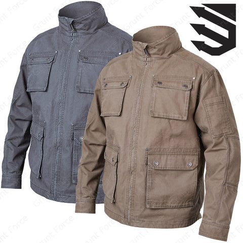 BLACKHAWK Field Jacket - Men's Tactical Jacket in Slate
