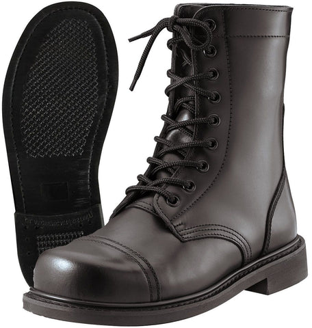 Mens GI Style Black Combat Boot - Made To Military Specs