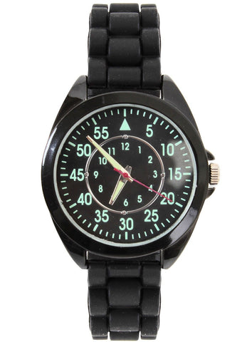 Military Night Ranger Field Watch Glow In The Dark Tactical Black Ops Watches