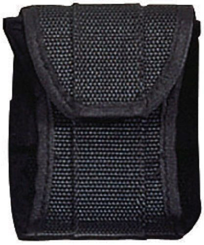 Black Police Handcuff Case - Standard/Link Cuffs - Tactical Nylon Hand Cuff Case