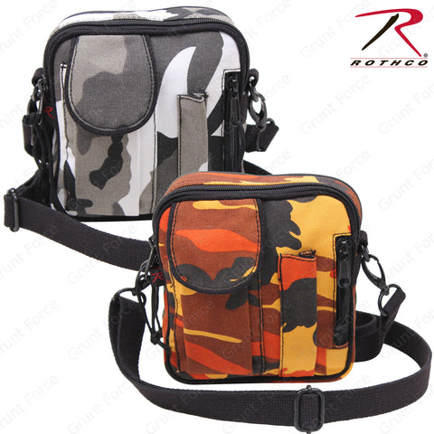 Rothco Savage Orange or City Camo Excursion Organizer Shoulder Bag