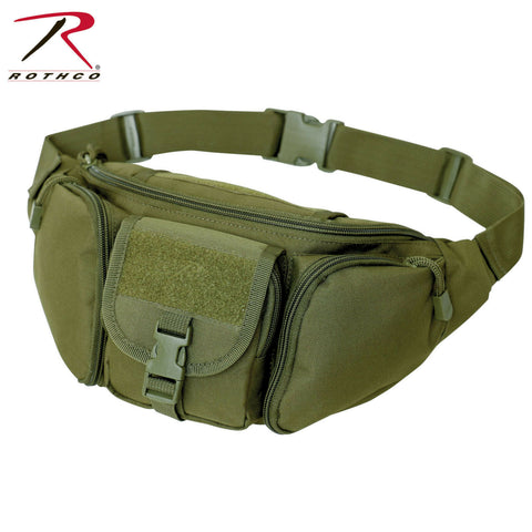 Rothco's Concealed Carry Waist Pack - Olive Drab Tactical Fanny Pack