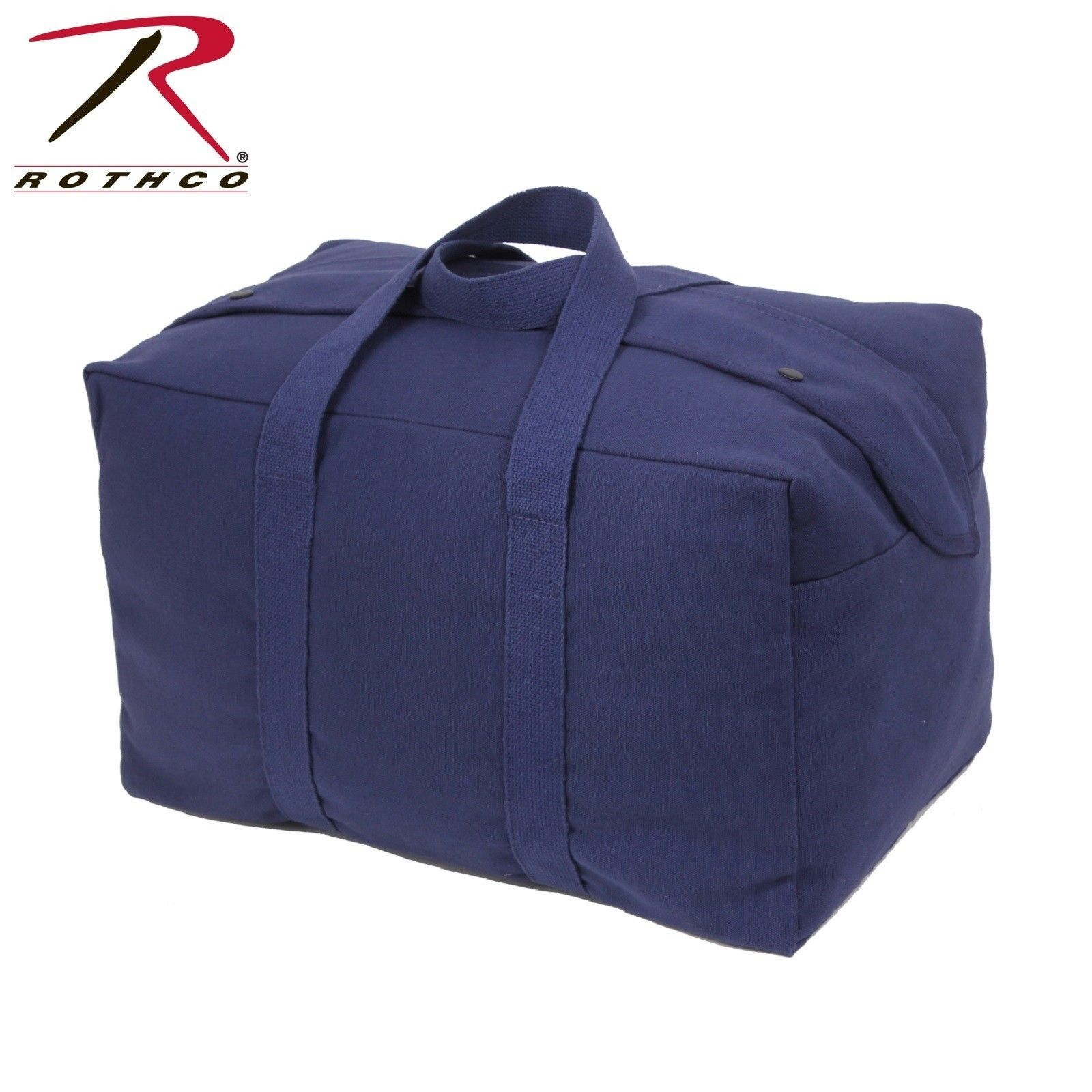 f9230c327 Navy Blue Canvas Travel Bag - Rothco Canvas Small Parachute Tactical ...