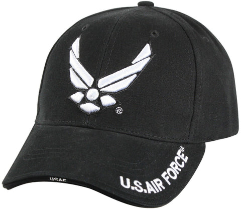 "Black Deluxe ""New Wing Air Force"" Baseball Cap"
