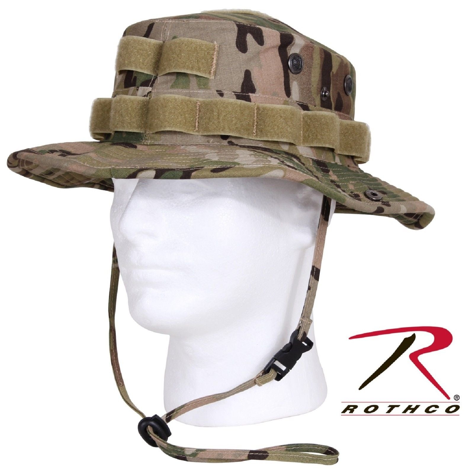 603dc8aaa3c MultiCam Camouflage Tactical Operator Cotton Ripstop Boonie Hat Rothco