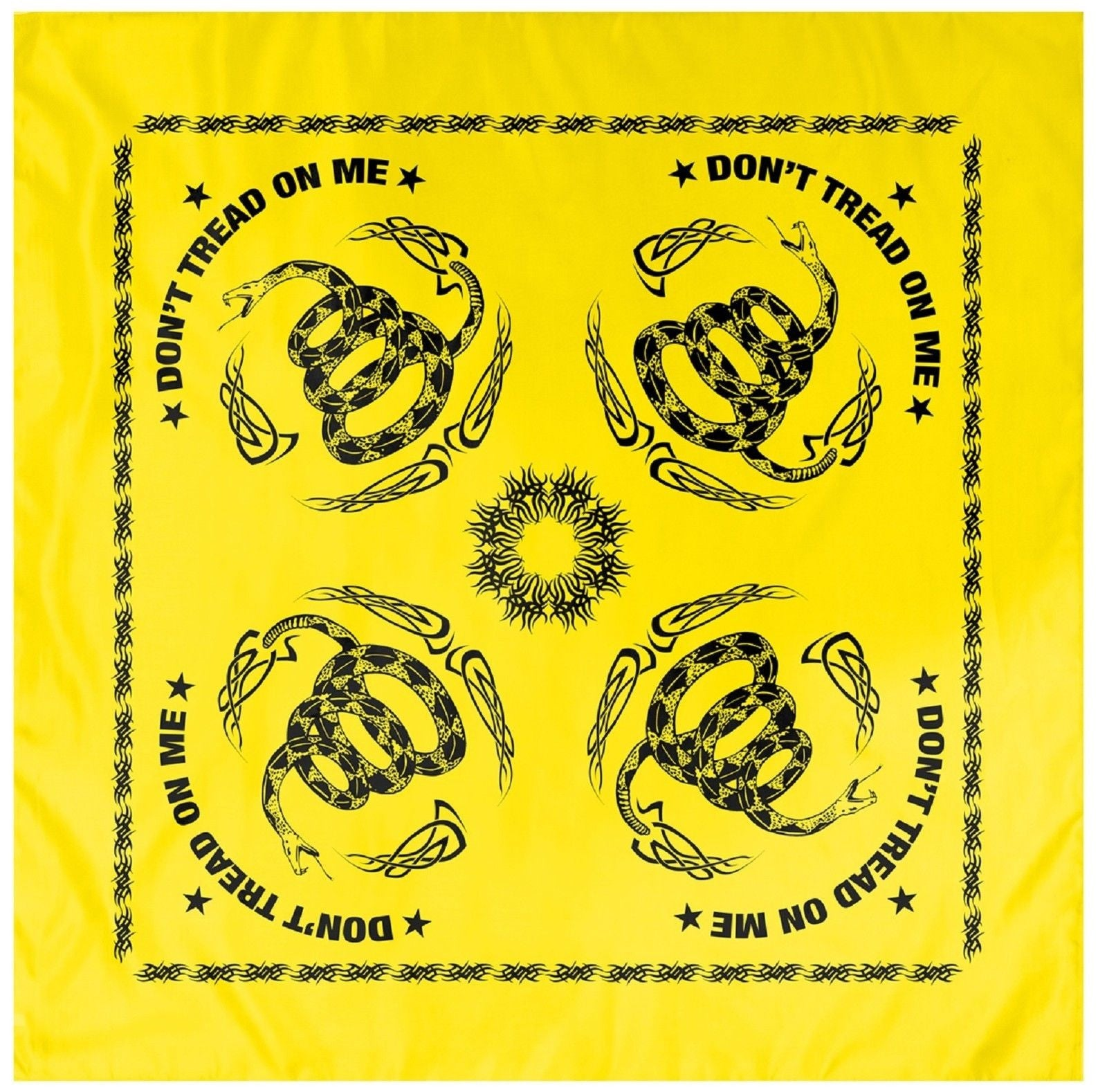 yellow and black gadsden flag snake don t tread on me 22 patriotic