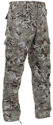 Men's Total Terrain Camo BDU Cargo Pants - Military Style Tactical Pants S - 3XL