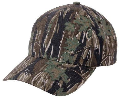 Smokey Branch Camouflage Low Profile Adjustable Baseball Cap Hat