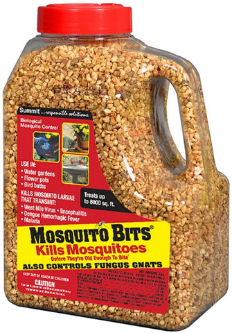 Summit 30 oz Biological Mosquito Control Standing Water Larvae Killing Bits
