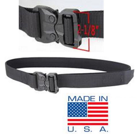 Black Condor Outdoor US1056 Tactical GT Cobra Belt - 3000 lb Tensile Strength