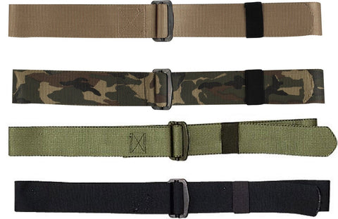 "Nylon BDU Uniform Belt - Black, OD, Khaki, Camo 1.75"" Wide Adjustable BDU Belts"