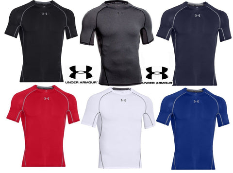 Under Armour Mens HeatGear Short Sleeve Compression Shirt