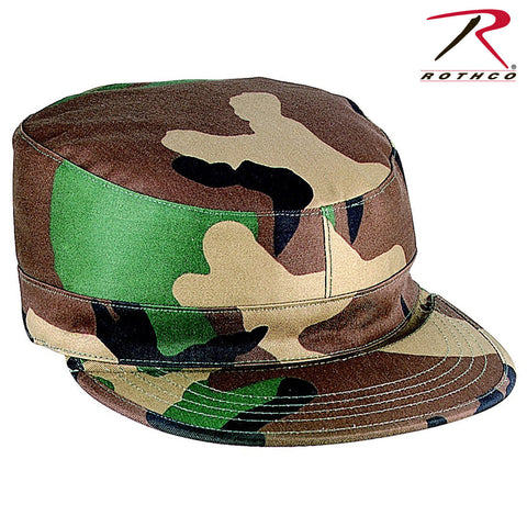Rothco Gov't Spec 2 Ply Rip-Stop Army Ranger Fitted Camouflage Fatigue Caps