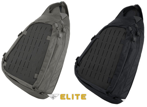 "Condor Elite Agent Covert Sling Pack - 19"" Concealed Carry Tactical Bag"