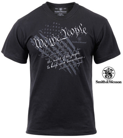 "Smith & Wesson ""We The People"" T-Shirt - 2nd Amendment Gun Control Tee Shirt"