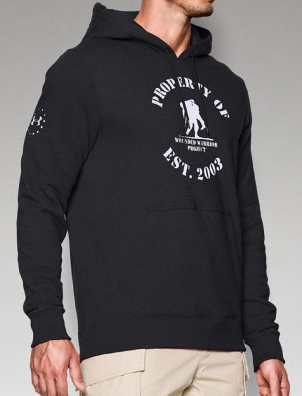 69d73111cb6 ... Under Armour Wounded Warrior Project Hooded Sweatshirt - Property Of WWP  Hoodie ...