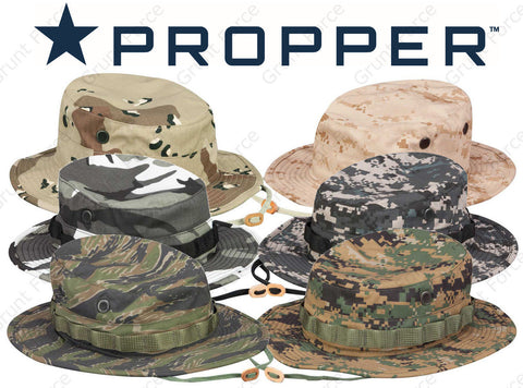 Propper® Mil-Spec Tactical Boonie Hat - Bucket Hat Jungle Cap Fishing Sun Hat