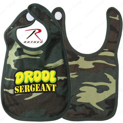 Rothco Infant 100% Cotton Camo Bibs - Baby Camouflage Bibs