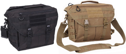 Covert Dispatch Tactical Shoulder Bag - School Work & Field MOLLE Messenger Bags