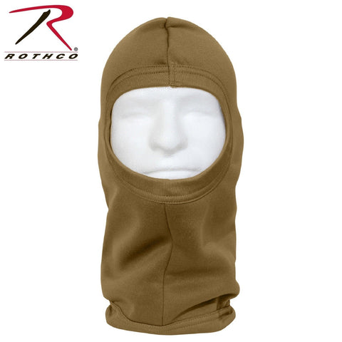 Rothco Polyester AR 670-1 Coyote Brown Balaclava - ECWCS 1-Hole Face Mask