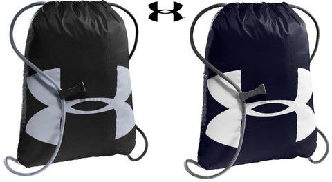 "Under Armour Ozsee Sackpack Athletic Bag Pack - UA 18"" Sports Duffle Backpack"