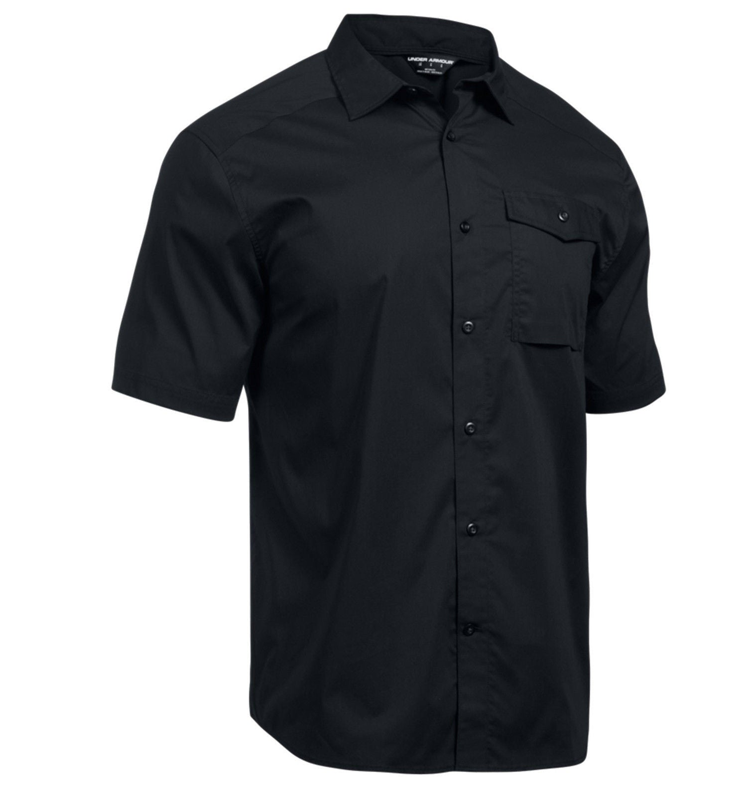 31aa6313 Under Armour Men's Tactical Button-Down Short Sleeve Shirt - Full ...