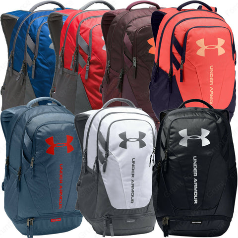 UA Hustle 3.0 Backpack - Under Armour Unisex Gear Bag With UA Storm Technology