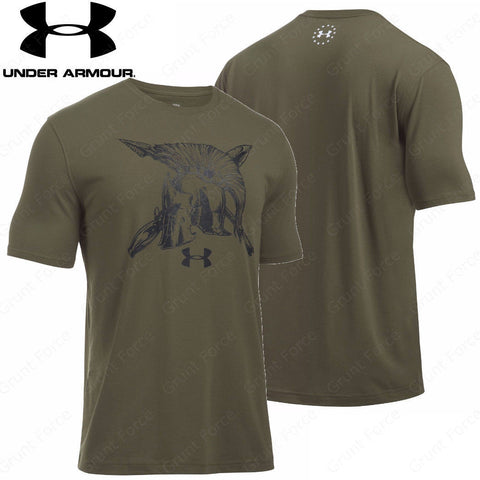 Under Armour Freedom Spartan Tee - Men's Tactical Short Sleeve Shirt