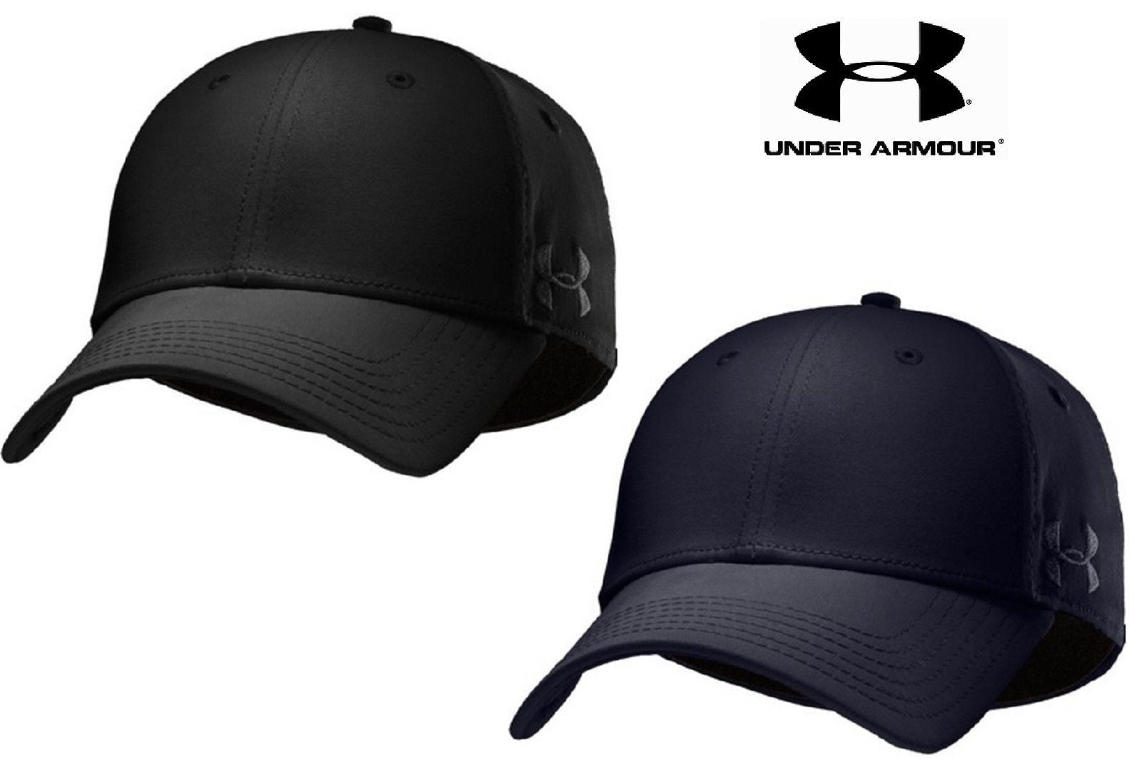 Under Armour Tactical PD Stretch Fit Cap - UA Tonal Logo Fitted Baseball Hat . 5f37fbf8932