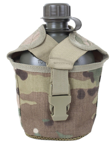 MultiCam Camouflage 1-Quart Canteen Cover w/ MOLLE Straps