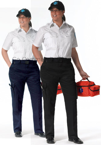 Women's EMT Pants Black or Blue - Womens E.M.T. Pant Sizes 2 - 22 / 7 Pockets