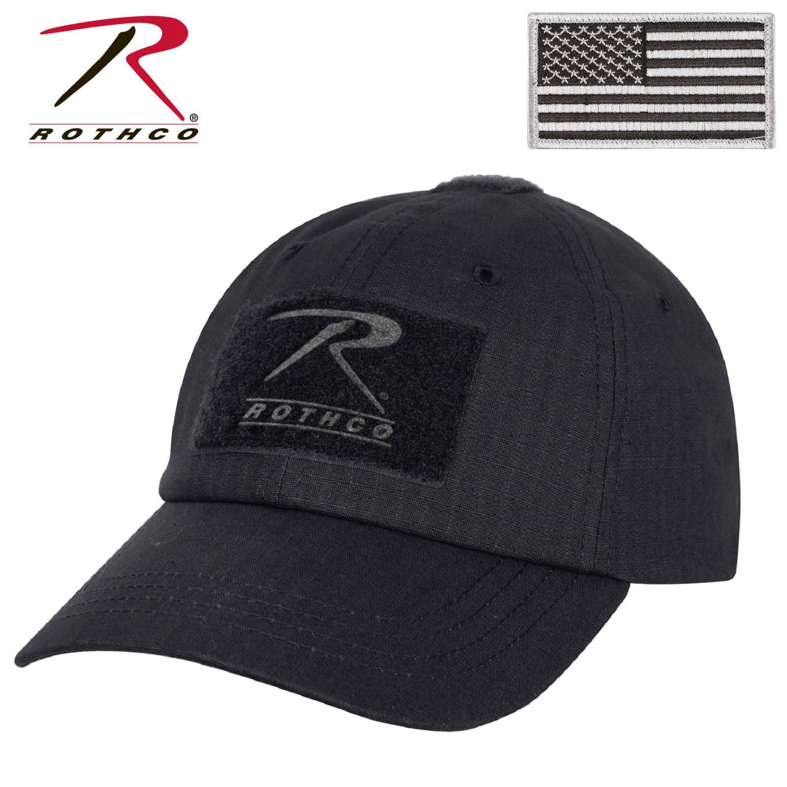 Rip Stop Operator Tactical Cap - Military Style Baseball Hat w  U.S. Patch  Olive Drab Coyote Brown Black eff1358c731b