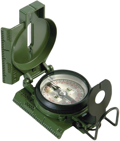 Official U.S. Military Tritium Lensatic Compass G.I. Battle Compasses w/ Pouch