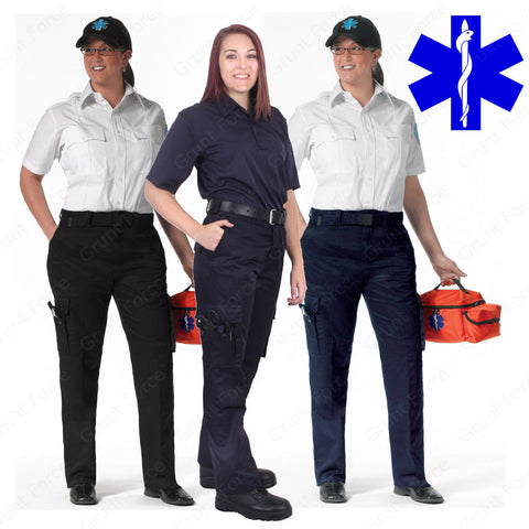 Women's 9 Pocket EMT Pants - Rothco EMT/EMS Paramedic Work Pant