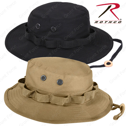 Rothco Coyote Brown or Black Boonie Hat