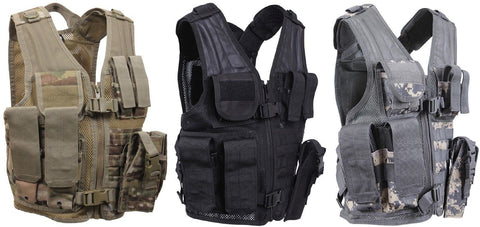 Kid's Tactical Cross Draw Vest - Rothco Young Adult's Shooting & Hunting Vests
