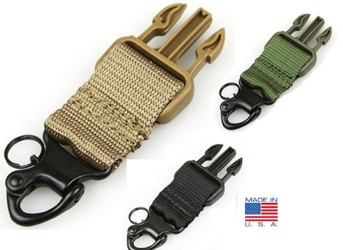 Condor US1011 Versatile Tactical Spring Loaded Steel Snap Shackle Upgrade Kit