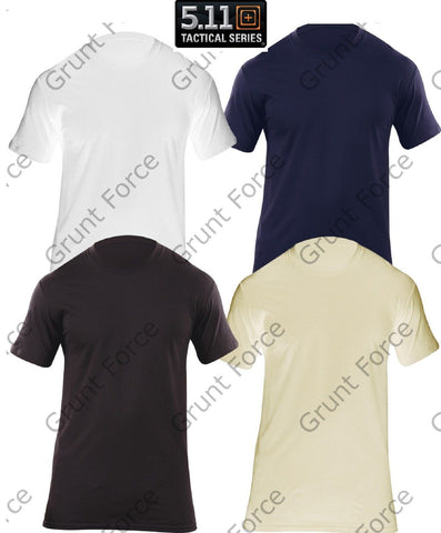 5.11 Tactical Utility Crew Tee Shirt 3-PACK - Mens Moisture Wick T-Shirts
