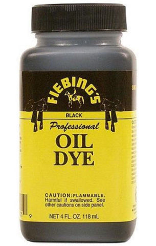 Fiebing's Professional Oil Leather Dye - Variety Of Colors - 4 oz