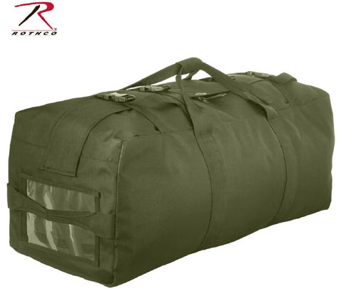 "Large 32"" Enhanced Nylon Duffle Bag - Rothco Olive Drab Green GI Type Gear Bag"